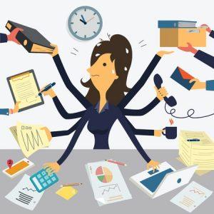 Multitasking im  Projektmanagement