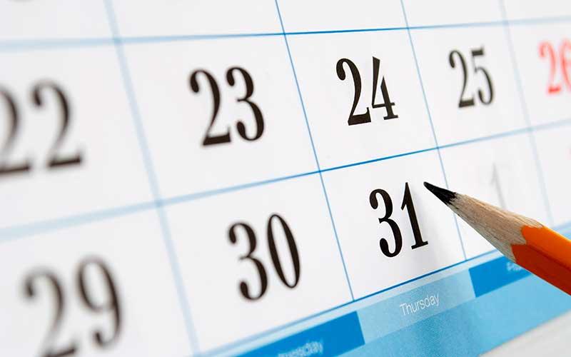 Digitaler Kalender