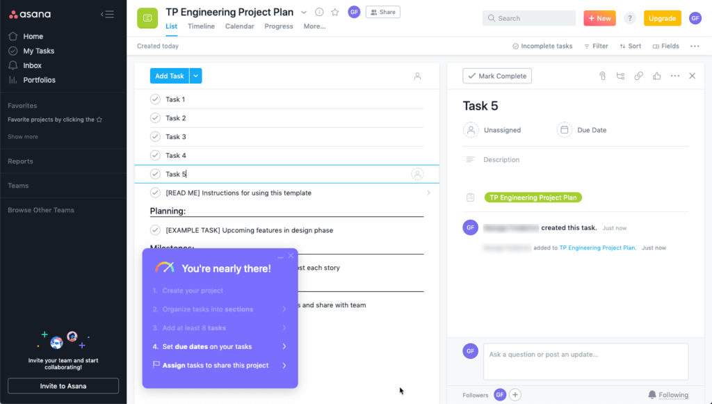 Asana Collaboration-Software