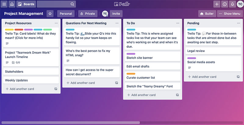 Trello Collaboration-Software
