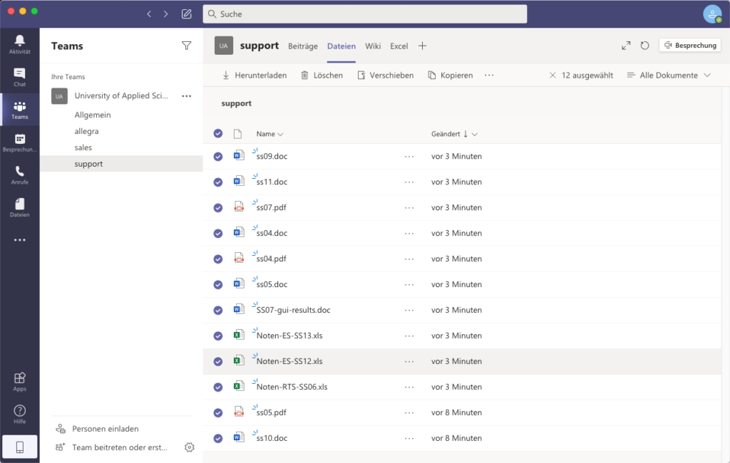 Microsoft Teams Collaboration Tool